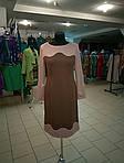 Платье женское трикотажное с длинным рукавом теплое р-р 48,50,52, фото 2