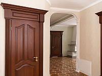 Дверь межкомнатная однопольная из массива ясеня глухая