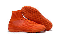 Бутсы сороконожки Nike MercurialX Proximo II TF orange, фото 1
