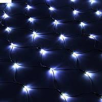 Светодиодная Сетка 160 LED, белая, синяя, мультиколор