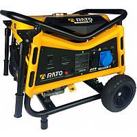 Бензиновый генератор Rato R6000WE (6933027200075-R6000DWV)