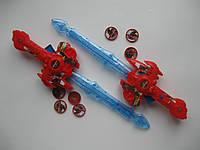 Оружие (меч) Спайдермена красный