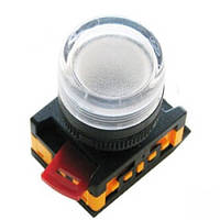 Лампа AL-22TE сигнальная d22мм прозрач. неон/240В цилиндр ИЭК