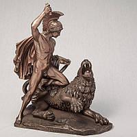 Статуэтка  Veronese Беллерофонт убивающий Химеру 30 см