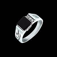 Мужское кольцо печатка Гермес 17,5 размер