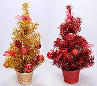 Декоративная елка в горшке, 40.5см, 2 вида