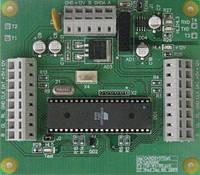 Турнікетних модуль, підключення двох зчитувачів