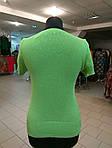 Джемпер вязаный зеленый жилет , фото 5