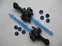 Оружие (меч) Спайдермена с фишками черный, фото 1