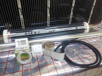 Нагревательная пленка 0,8х3м HiHeat М80 (Корея) комплект без регулятора