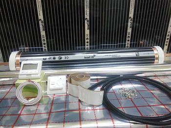 Нагревательная пленка 0,8х4м HiHeat М80 (Корея) комплект без регулятора