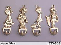 Набор крючков для полотенец из 4 шт Stilars Детки 10 см 333-068