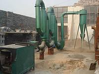 Сушилка для сушки биомассы для производства топливных брикетов производительностью 450  кг/час