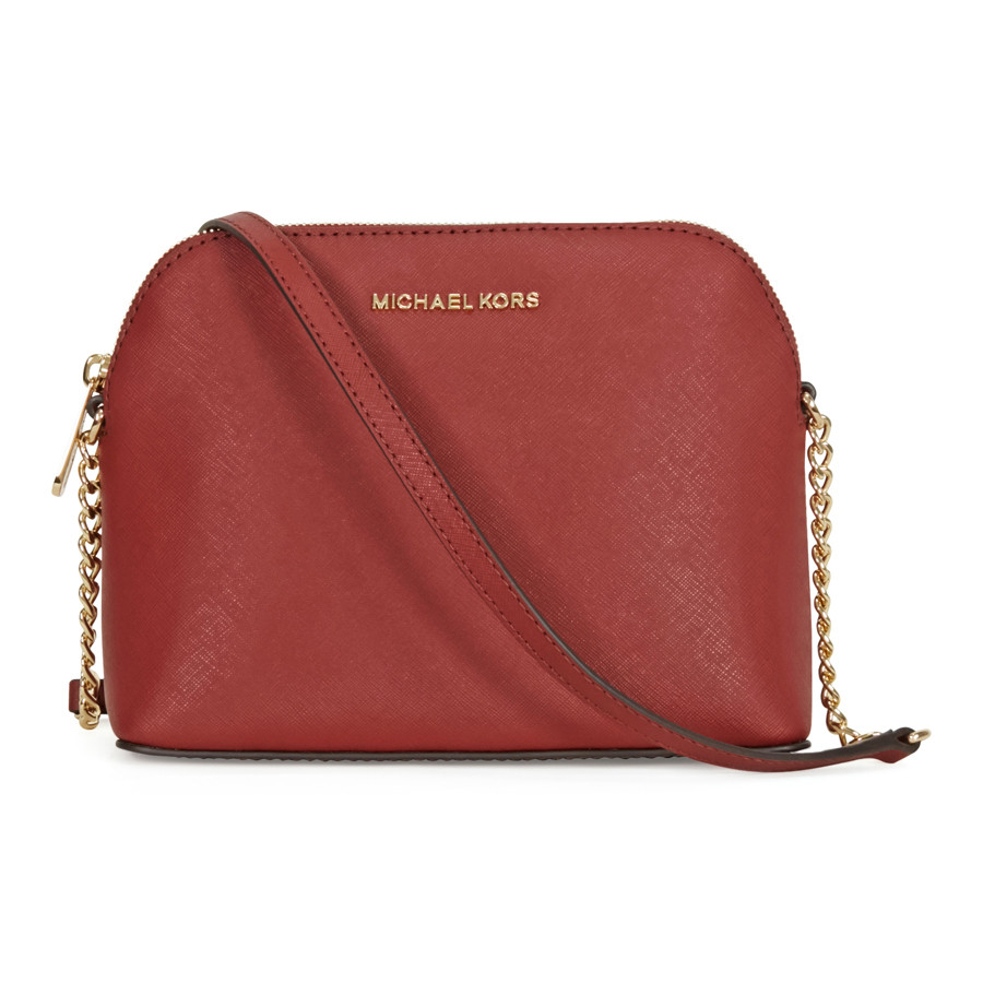 Сумка Michael Kors Cindy Large Saffiano Leather Crossbody - Brick  MK32H4GCPC7L-616 - Интернет- 3c8a3e0283b