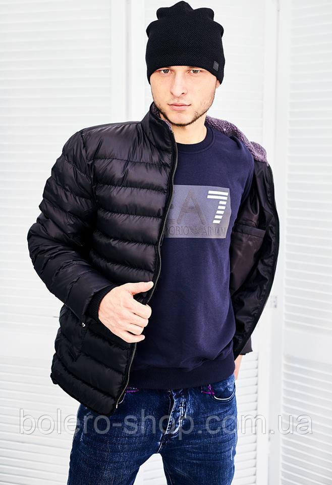 Мужская куртка черная Madoc