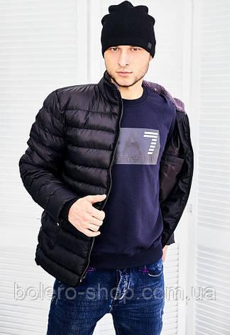 Мужская куртка черная Madoc, фото 2