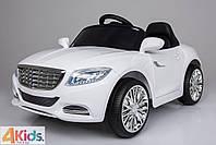 Детский электромобиль Cabrio 2017 + Резиновые колеса + Кожаное сидение + 2 мотора по 25 ватт
