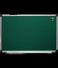Доска для мела магнитная 90x50 см в алюм рамке S-line ABC Office. Крейдова зелена дошка у рамці