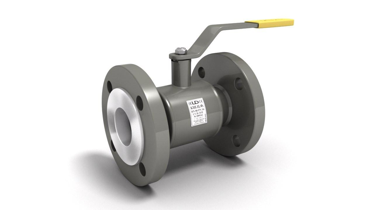 Кран шаровый LD фланцевый  DN 100 PN 1,6  полнопроходной L 230 мм