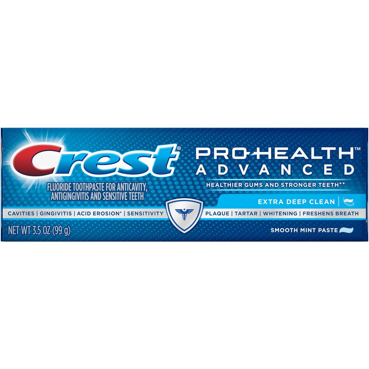 Crest Pro-Health Advanced Extra Deep Clean Smooth Mint - Зубная паста, 99 г