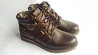 Стильные коричневые ботинки Kristan clasic