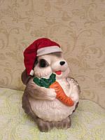 Копилка Заяц с морковкой