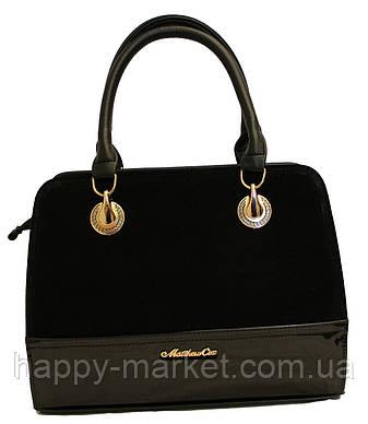 Сумка женская классическая каркасная Fashion  замшевая 553001-6, фото 2