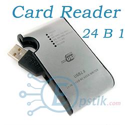 Картридер 24 в 1 USB 2.0 ( кард ридер)  универсальный