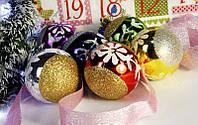 Шарик новогодний 122-12667-2 с рисун. 6цв(6см)
