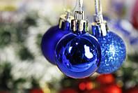 Шарик новогодний 2L33-150 блестящ+матовые (3см)