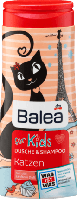 Шампунь-гель для душа Balea for Kids Katzen 300 ml.