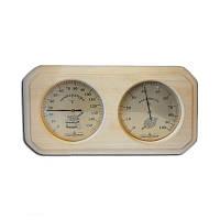 Термометр + гидрометр (двойной)