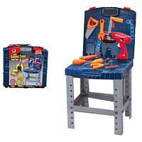 Столик с инструментами детский игровой набор в чемоданчике 661-74