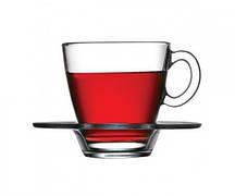 Набор чашек с блюдцем Pasabahce Aqua 215 мл 12 предметов (95040)