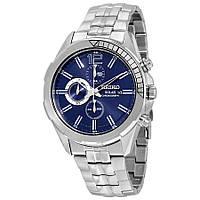 Часы Seiko SSC381P1 хронограф SOLAR V176