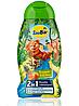 Шампунь-гель SauBаr 2in1 Тропические фрукты 250 ml.