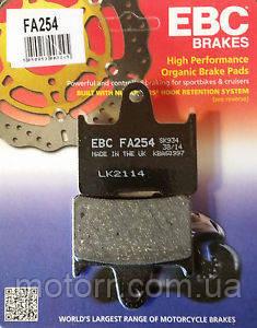 Тормозные колодки EBC FA254