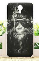 Чехол для Homtom HT3 / HT3 Pro Бампер силиконовый Monkey