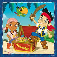 Вафельная и сахарная картинка Пираты в ассортименте