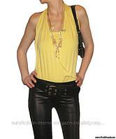 Майка-боди желтая,  Silvian Heach, Италия размер 46-48