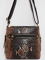 Клатч четыре кармана шоколад, фото 1