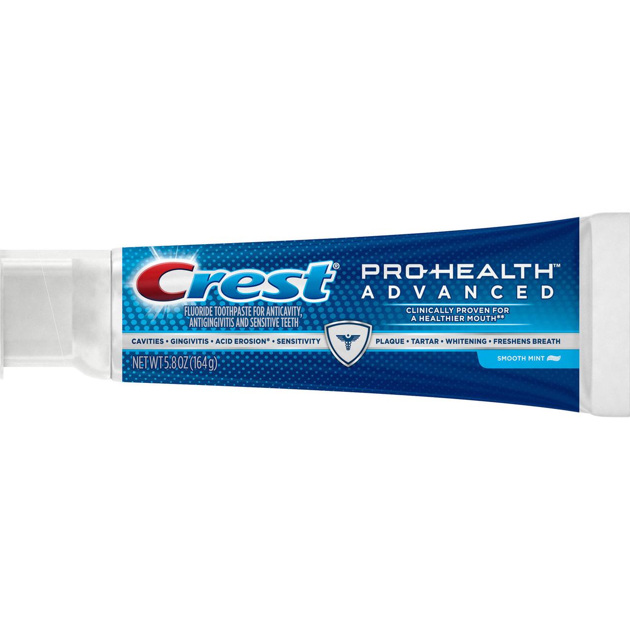 Crest Pro-Health Advanced Smooth Mint - Зубная паста с расширенным комплексом действий, 164 г