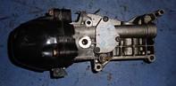 Корпус масляного фильтра в сборе теплообменикFiatQubo 1.3MJet2008-55238294 (мотор 199A2000)