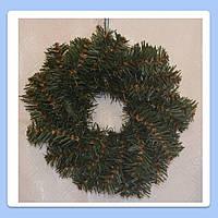 Венок рождественский искусственная ель ПВХ 50 см