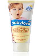Детский крем для лица BabyloveWind & Wetter 75 г- защита от ветра и непогоды.