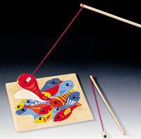 Магнитная игра - Рыбалка (2 удочки), Bino