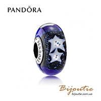 Шарм Pandora НОЧНОЕ НЕБО МУРАНО 791662CZ серебро 925 Пандора оригинал
