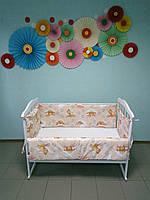 Бортики (защита) в детскую кроватку