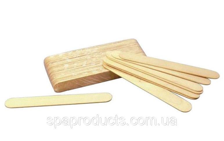 Шпатель деревянный одноразовый узкий ( 100 шт/уп)