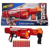 Бластер МЕГА Ротофьюри (бластер) Nerf Hasbro